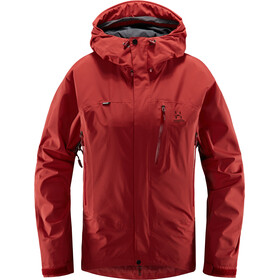Haglöfs Astral Jacket Women brick red